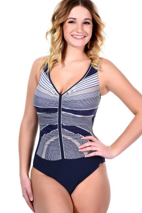 Sunflair - Lady in Blue Badpak zonder beugel E-G cup