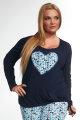 Kris Line - Pyjama set voor vrouwen met grotere borsten - Kris Line Nightwear