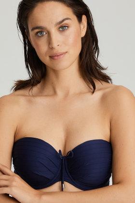 PrimaDonna Swim - Sherry Bandeau bikini bh met afneembare bandjes E-G cup