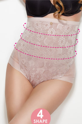Mitex Shapewear - Shape Panty - Highwaist - Mitex 2