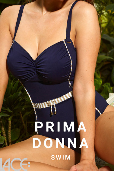 PrimaDonna Swim - Ocean Mood Badpak - Met shaping effekt - E-H cup