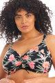 Elomi - Dark Tropics Bikini Beha Bandeau G-K cup